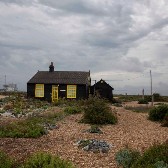 prospect cottage dungeness, photo card, photo clare hocter