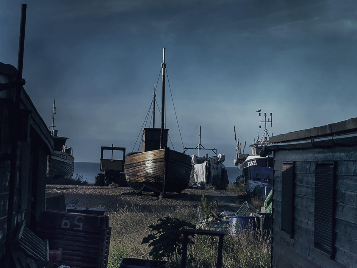 fishing boats hastings photo, card, photo clare hocter